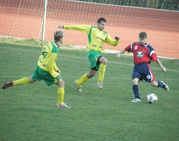 Fotbal – 1. A třída: Baník Stříbro – Čechie Žákava 2:1