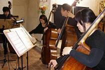 Hudebníci obsadili kapli v Boru