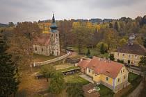 Kostel v Michalových Horách.