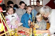 V borském zámku se konalo zahájení týdenní akce nazvané Velokonoční machrovinky.