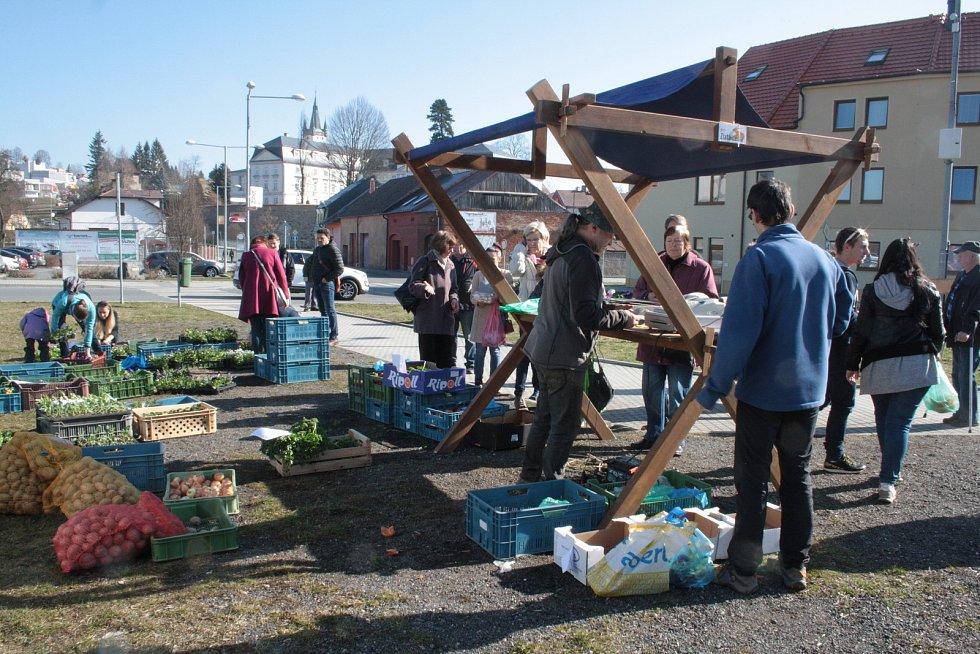 Farmářské trhy v Tachově.