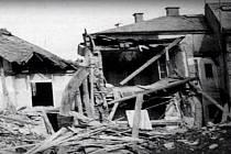 Historické snímky a dokumenty vztahující se k 14. únoru 1945,kdy došlo k bombardování Tachova.