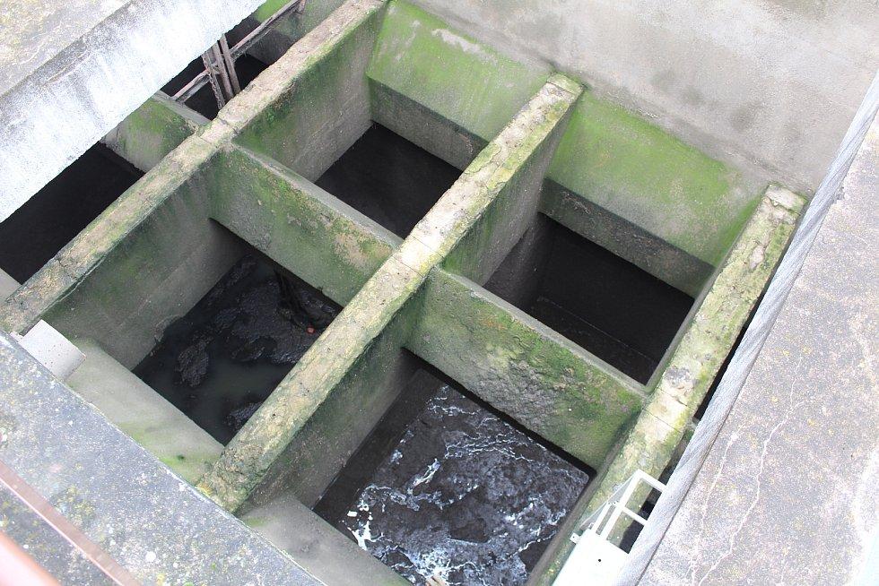 Čistírna odpadních vod ve Stříbře.