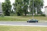 Pohled na místo, kde je dnes parkoviště. Rok 2008.