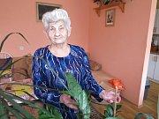 Margita Kaššová z Černošína v sobotu oslavila 94 narozeniny.