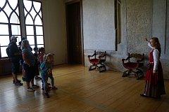 V prostorách borského zámku se uskutečnily prohlídky v rámci Dnů evropského dědictví.