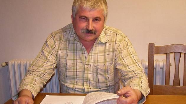 Starosta Sulislavi Milan Strohschneider.
