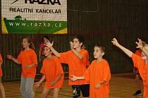 Krajské kolo ve vybíjené, jehož se zúčastnila nejlepší družstva ze všech plzeňských okresů, se konalo včera ve sportovní hale v Tachově.