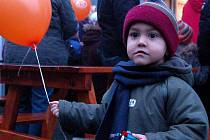 Děti poslaly balónky Ježíškovi