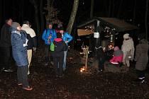 Advent v lese pořádají ve Stříbře už desátým rokem.