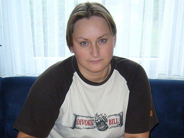 Slovenka Eva Verbická (na snímku) žije na Tachovsku už jedenáct let. Přistěhovala se sem z východoslovenských Michalovců, kde žijí její rodiče.