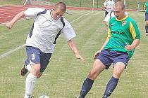 Fotbal–1. A třída: B. Stříbro – K. Horní Bříza 1:2