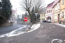 Plánské ulice Tachovská a Dvořákova projdou letos rozsáhlou rekonstrukcí.