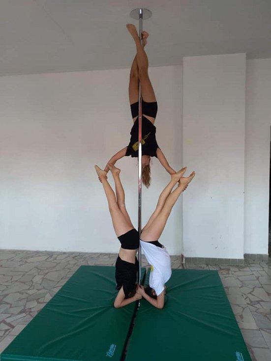 Veronika Merglová: Pole dance je báječný sport!