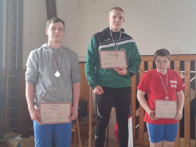 V Mariánských Lázních si dali dostaveníčko zápasníci, Stříbrští přivezli čtyři medaile.