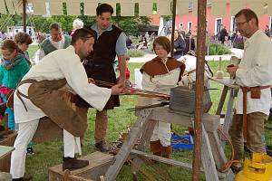 Sdružení Terra Tachovia a Via Carolina spolupracují už léta, nyní ukázala co umí na slavnostech v německém městečku