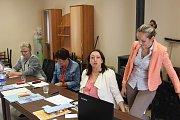 Volební komise ve Skapcích a Zhoři
