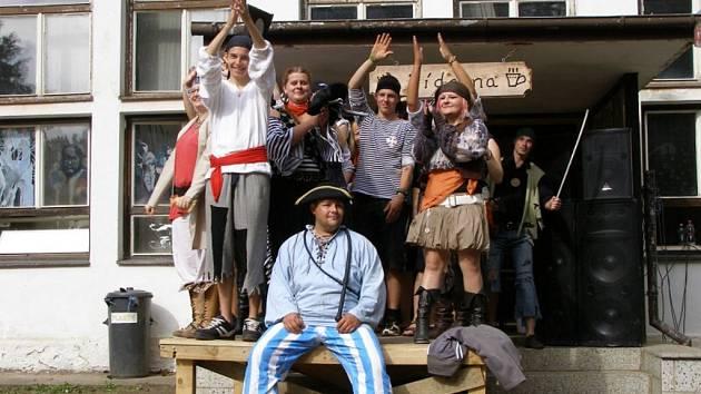 Bonětičtí piráti hledají poklad...