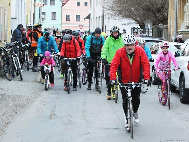 Koloběžení a cyklotoulání mělo rekordní účast