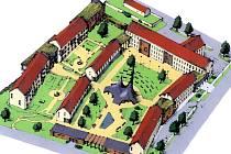 Takto by měl vypadat Dům s pečovatelskou službou, který vyroste v blízkosti zámku v Boru.