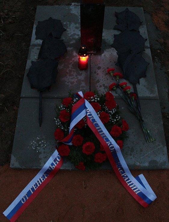 Konec války si připomněli na hřbitově obřího zajateckého tábora u Plané
