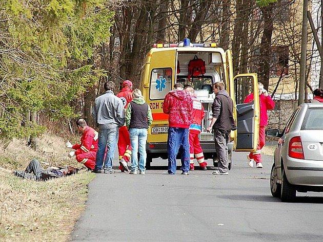 Hrozivě vypadající nehoda na Ašsku skončila s lehkým zraněním