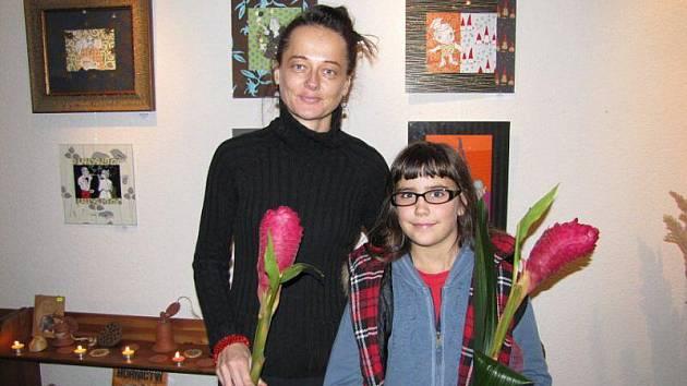 Výstava kreseb Jany Soppé byla zahájena v galerii U Rybiček ve Stříbře