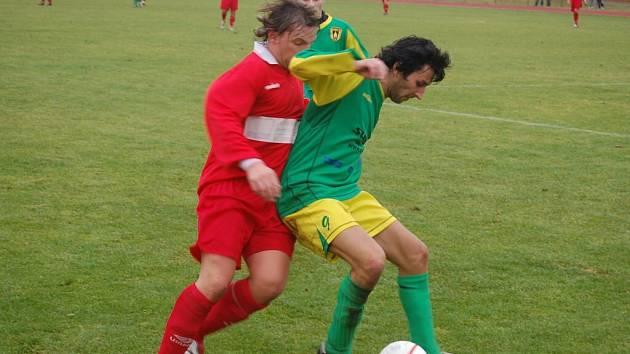 Ve fotbalovém přeboru porazil B. Stříbro mužstvo TJ Klatovy B 3:2