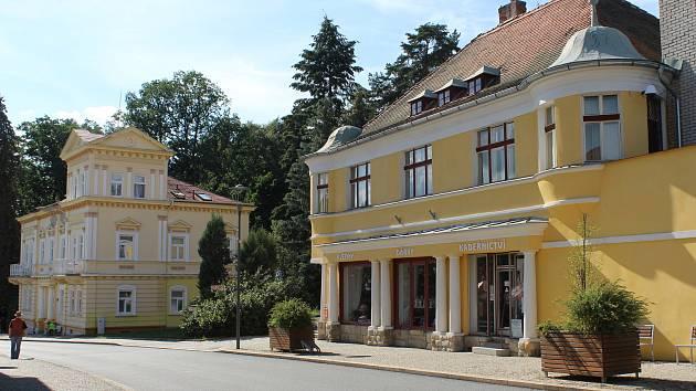 Centrum Konstantinových Lázní.