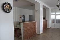 Rekonstruované prostory kuchyně v benešovickém pohostinství.
