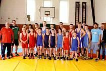V Mariánských Lázních se pod taktovkou F. Hejplíka konalo tradiční soustředění zápasníků.
