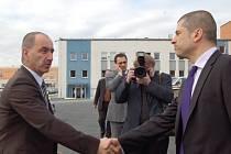 Ministr průmyslu a obchodmu Martin Kuba navštívil v pondělí Tachovsko.