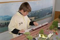 V Tachově se konala výstava železničních modelářů.