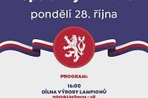 plakát oslavy republiky