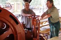 Horníci ve Stříbře získali pro svůj skanzen strojovnu, kterou poprvé představili veřejnosti při Dni evropského dědictví
