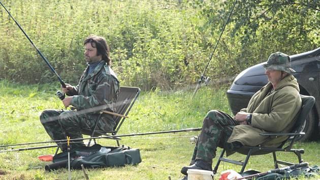 V Kyjově se konaly rybářské závody.