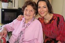 Marie Leskovcová ze Stříbra oslavila 100 let