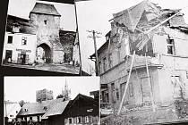 Snímky z období druhé světové války.