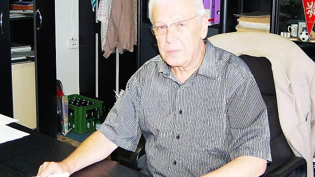 Místostarosta města Tachova Václav Svoboda.