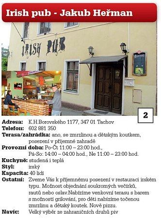 2. Irish Pub - Jakub Heřman