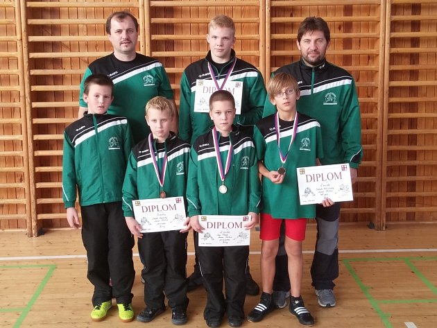 Stříbrští přivezli čtyři medaile