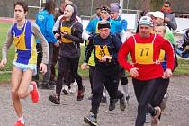 Ve Stříbře se běžel 21. ročník Mikulášské dvacítky, na start se postavilo 32 běžců.