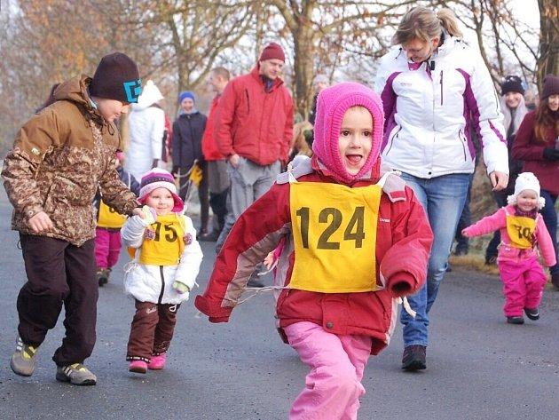 Ve Stříbře se běžel 31. ročník Vánoční míle