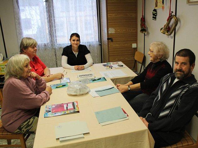Volby v osadě Strahov, volební komise