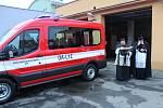 Borští hasiči dostali před půldruhým rokem nové vozidlo, letos by měla začít rekonstrukce zbrojnice.