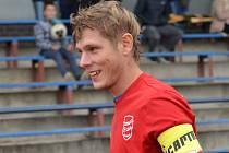 Lukáš Tušl jako kapitán dovedl svůj tým FK Tachov k vysokému vítězství nad Konstantinovými Lázněmi 5:0.