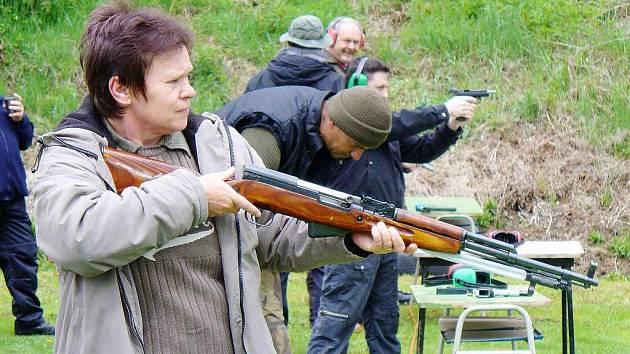 Československá obec legionářská pořádala v sobotu 15. května střelecké závody