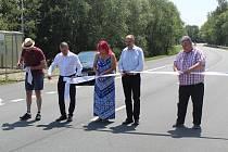 Otevření dálničního přivaděče.