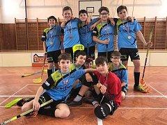 Elévové tachovského florbalového klubu vyhráli turnaj v Tlučné.