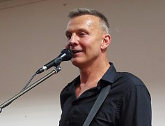 Martin Maxa si po koncertě povídal s publikem